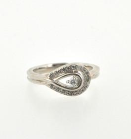 81010191 Sterling Silver Diamond Ring
