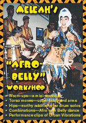 Meleah's Afro-Belly Workshop ~ Belly Dance DVD