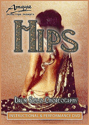Amaya's HIPS! Drum Solo Choreography ~ Belly Dance Instructional DVD