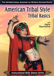 American Tribal Style Tribal Basics with Kajira Djoumahna ~ Belly Dance Instructional DVD
