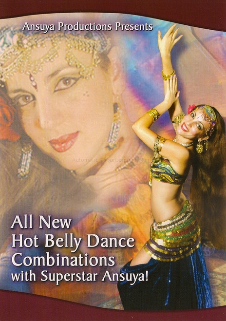 All New Hot Belly Dance Combinations with Superstar Ansuya DVD ~ Belly Dance Instructional DVD