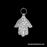 Hand of Fatima / Hamsa ~ Small Engraved