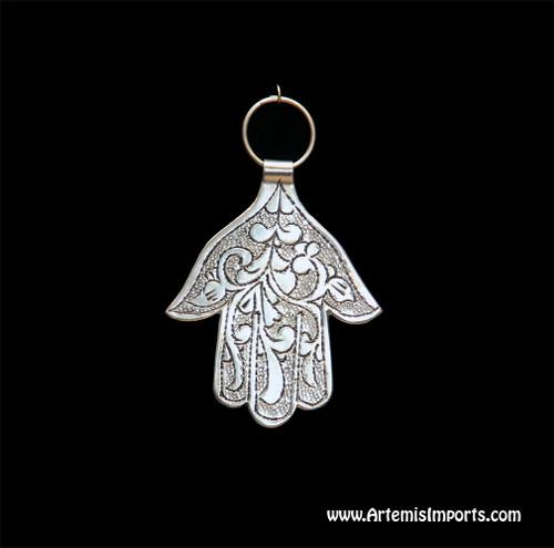 Hand of Fatima / Hamsa ~ Small Engraved