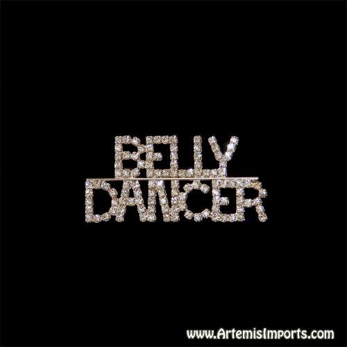 """Belly Dancer"" Brooch (Pin)"
