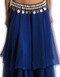 Belly Dance Chiffon Double Layer Skirt - Clearance - Blue