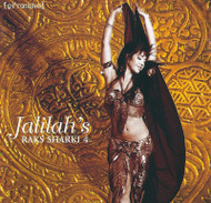 Jalilah's Raks Sharki 4 - The Rhythm Workshop Import - Belly Dance Music CD