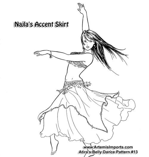 Najla's Accent Skirt by Atira (Atira-13)