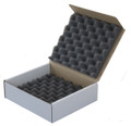 Foam Box for Returns of Sensitive or Breakable Items like LCD screens - Hard Drives - Cameras - Camcorders