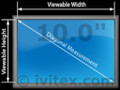 NEW 10.0 LCD screen panel Hannstar HSD100IFW1A00 Compatible LCD for Notebook fix