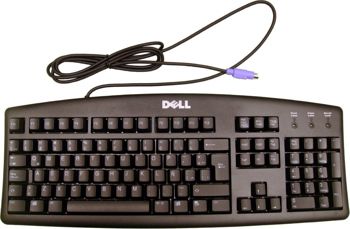 NEW Dell Basic home or office computer keyboard with a