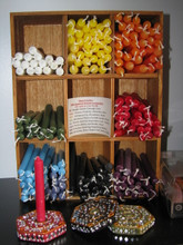 Ritual Chime Candles 8 different colors.