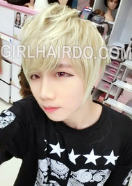 #8069 PREMIUM MIX BLONDE GUY WIG