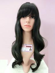 #716 natural long wave wig