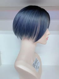 GIRLHAIRDO SW096S BLUE SHORT WIG