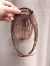PREMIUM AIRY BANGS LIGHT BROWN FIBER
