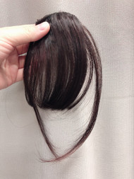PREMIUM AIRY BANGS CHOCCOLATE BROWN FIBER
