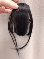 PREMIUM AIRY BANGS BLACK FIBER