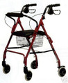 GF RJ4300 - Graham Field Walkabout lite rollator walker 300 lb