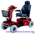 Merits Pioneer 10, 4 Wheel Heavy Duty Mobility Scooter--- Special Price for Special Package!