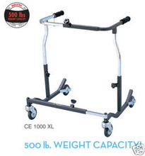 DR CE 1000 XL Bariatric Anterior Safety Roller with 500 lb Capacity
