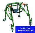 Seat Harness for Adult and Pediatric Safety Rollers & Nimbo Posture Walkers - 2 Sizes