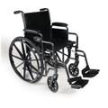"Wheelchair Detachable Full Arm Swingaway Footrest 16"" (3E010240 - Traveler SE 16)"