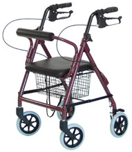 Walkabout Junior 4-Wheel Rollator Walker