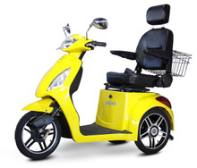 Yellow EW-36 Power Scooter