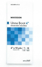 "McKesson Unna Boot, 2067 4"" by 10 YARDS, case of 12"
