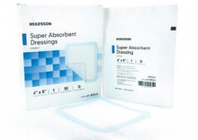 McKesson Super Absorbent Dressing. box of 10, 61-89545