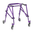 KA3200-2GWP Nimbo Gait trainer in purple