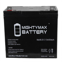 Mighty Max ML55-12 22NF 12v 55ah batteries