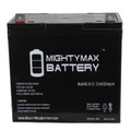 Mighty Max ML55-12 22NF 12v 55ah batteries