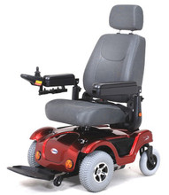 Merits P312 Power Chair with large wheels in front