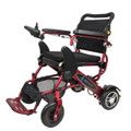 Red Geo Cruiser DX folding lightweight Power Chair