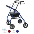 Probasics RLAB8 Rollator Walker 8 inch wheels