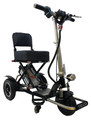 Black Enhanced Mobility Triaxe Sport Folding Scooter