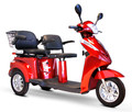 EWheels EW-66 three wheel two seat scooter