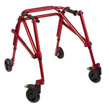 Klip 4 Wheel standard posterior walker for kids, KP420R