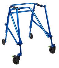 Klip 4 wheel posterior walker, size LG, KP440B