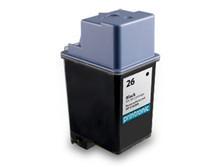 HP 26  -  Inkjet Ctg, Black