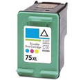 HP 75XL  -  Inkjet Ctg, Cyan, Magenta, Yellow