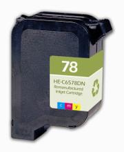 HP 78  -  Inkjet Ctg, Cyan, Magenta, Yellow