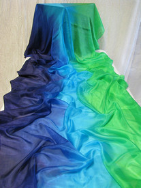 AUTUMN PREORDER VEIL OFFER:  5mm Ultralight 3 yard Silk Belly Dance Veil, in ISIS