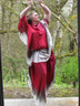 CHEROKEE PRINCESS  shown on MARY  circa 2011  outside dyeroom door...