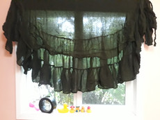 SKIRT WRAP COTTON  INSTOCK:   or Decor  in DARK MOSS
