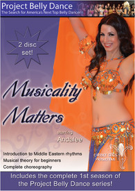 DVD:  MUSICALITY MATTERS starring ANDALEE   2 DISC SET!