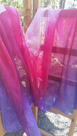 InStock Ready2Ship:  Ultralight  XSMALL 5mm 36x72in JUICY PINKS  Colors   XSMALL 2 YD  CHILD VEIL
