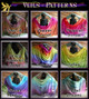 examples of horizontal popular colorstyles  choose any from the website   seen on veils or even colors only shown on  fan veils!