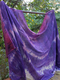 INSTOCK READY2SHIP: 6mm Midweight 45X108 yard Silk Belly Dance Veil, APHRODITE HAZE